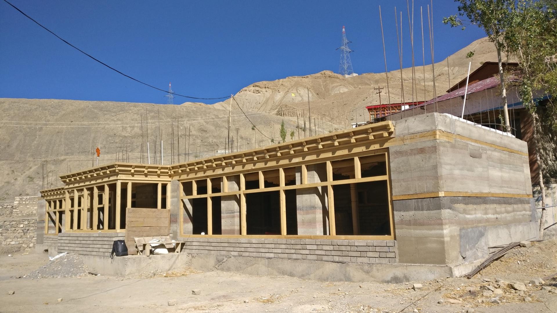 nová-školní-laboratoř-září-2019-dokončená-hrubá-stavba-prvního-patra