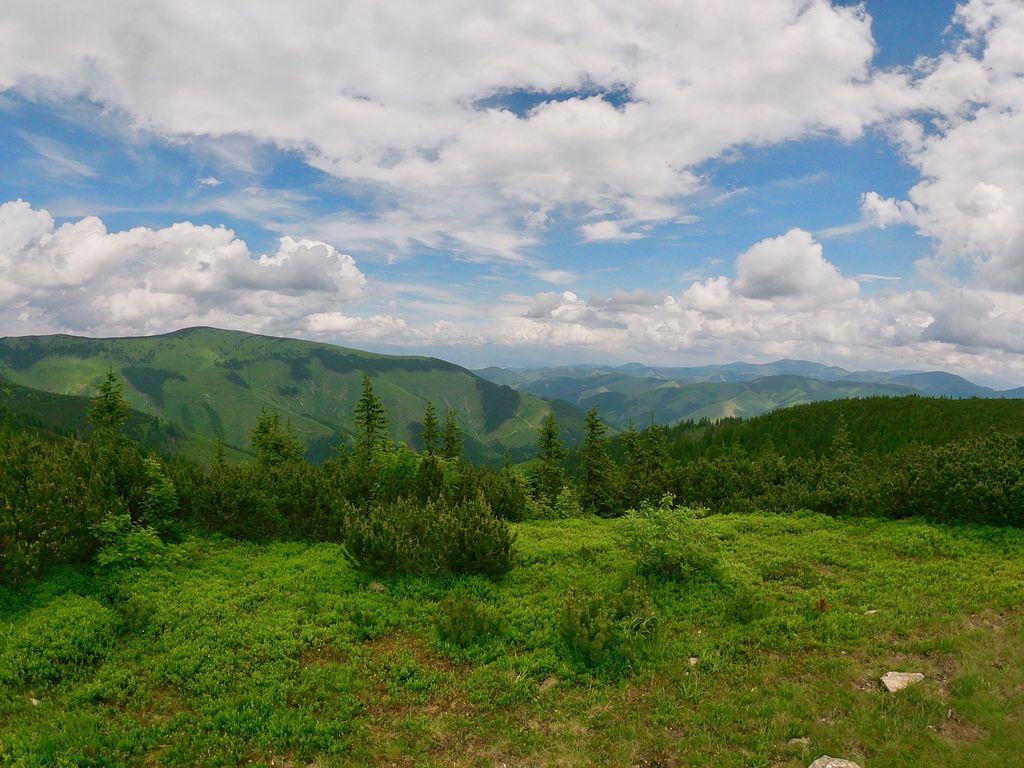 Přechod Nízké Tatry 2019