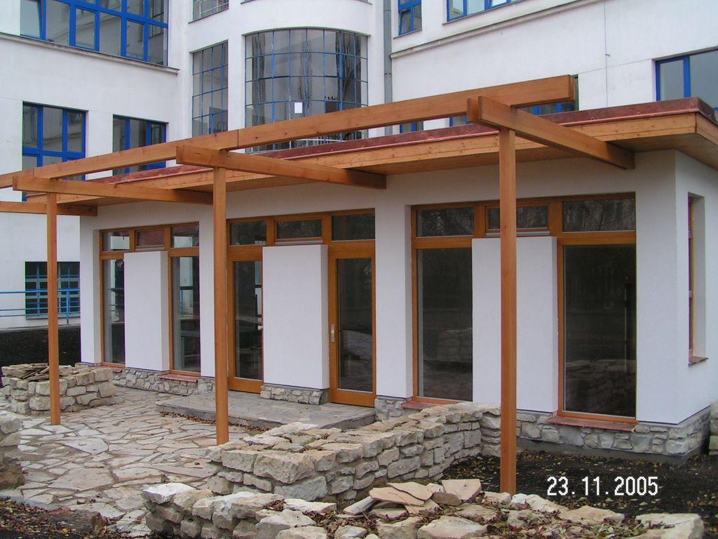 Přístavba školní jídelny 2005