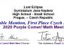 Purple Comet! 2020