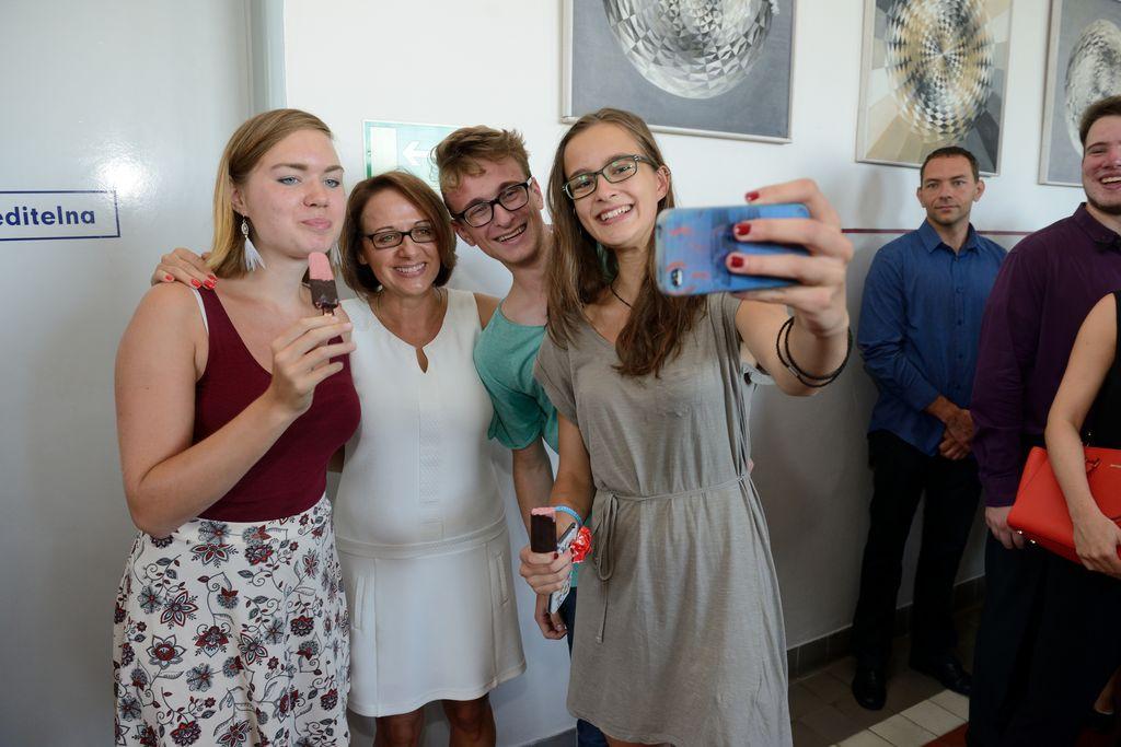 Zahájení školního roku 2015/2016 s paní primátorkou
