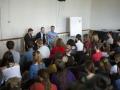 Debata na škole s Evropským parlamentem, téma ČR a zelená r